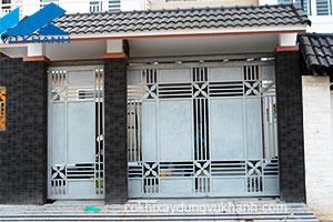 Cửa Cổng Đẹp Sắt Kẽm SP-48535